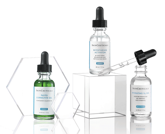 Sieri SkinCeuticals Phyto Corrective, Retexturing Activator e Hydrating B5